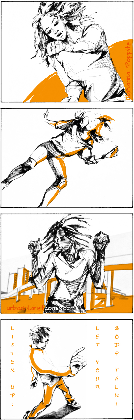 dance movements comic