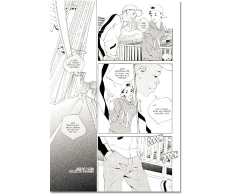 comic portfolio Marianna Poppitz
