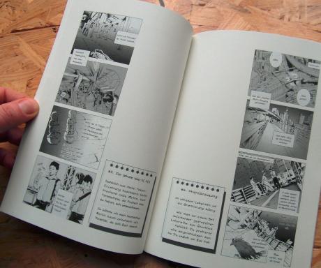 manga yonkoma anthology Leipzig book fair 2015 Tokyo Mosaic