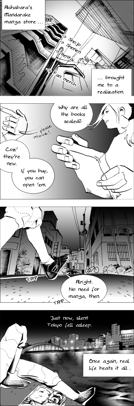 Tokyo Mosaic urban manga true reward
